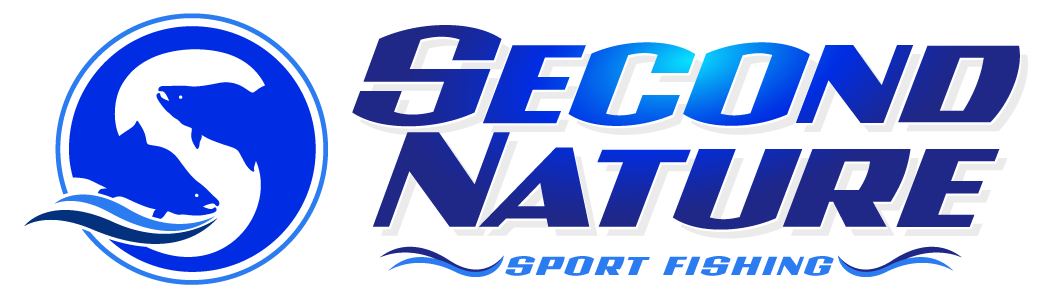 Full Colored Logo Image of Second Nature Sport Fishing in Oswego, NY.